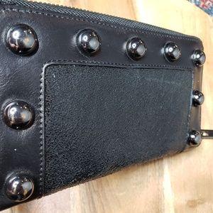 Tory Burch Bags - Tory Burch Studded Black Wallet